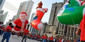 Panamá: desfile navideño